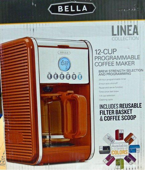 Picture of BELLA LINEA 14115 COFFEE MAKER ORANGE
