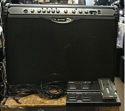 Picture of LINE 6 SPIDER II STEREO 150 WATTS GUITAR AMP WITH FOOTSWITCH