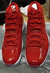 Picture of Jordan 378037 623 Retro Sneakers (RED) NEW! BEST OFFER