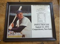 """Picture of Mickey Charles Mantle Induction Day August 12, 1974 8""""x10"""" Photo Baseball"""