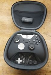 Picture of Microsoft Xbox Elite Wireless Controller for Xbox One Model 1698 USED MINT CONDITION